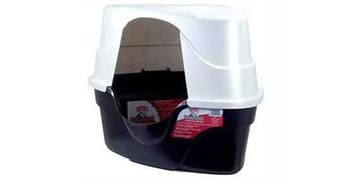 nature's miracle corner hooded litter box review
